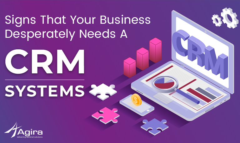 The Needs A CRM System