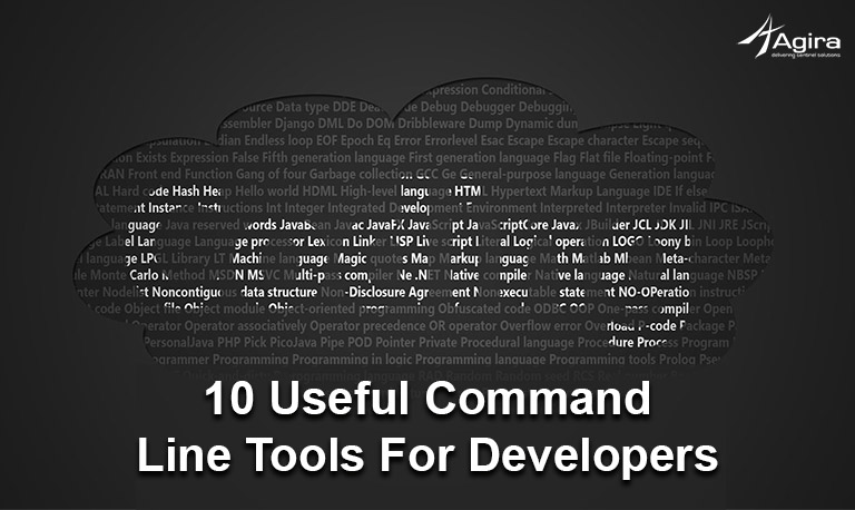 10 useful command line tools for developers