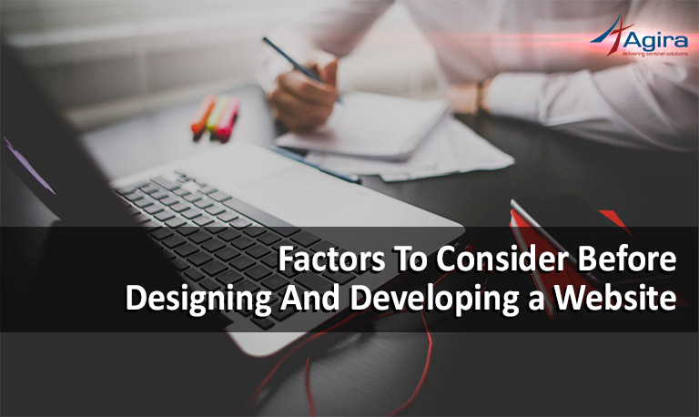 10 factors to consider before designing and developing a website