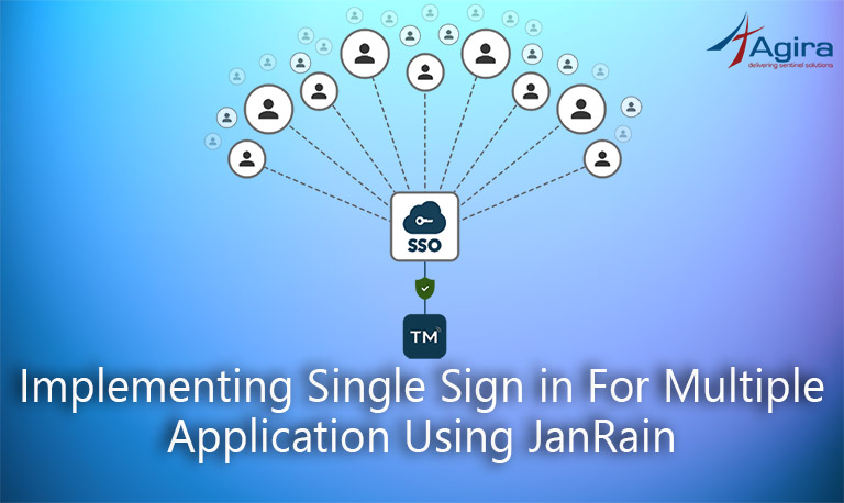 Implementing single sign in for multiple application using JainRain1