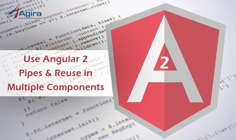 Use Angular 2 Pipes & Reuse in multiple components