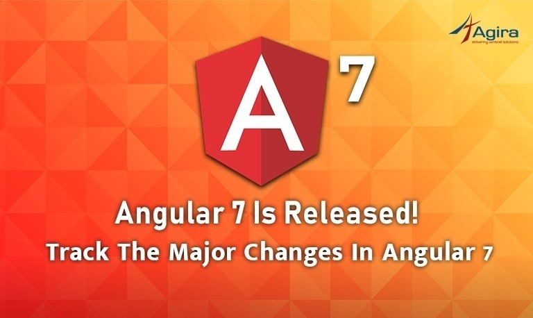 Angular 7 is Released! Track the major changes in Angular 7