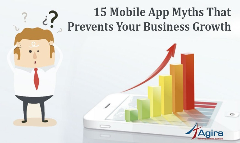 15 Mobile App Myths That Prevents Your Business Growth