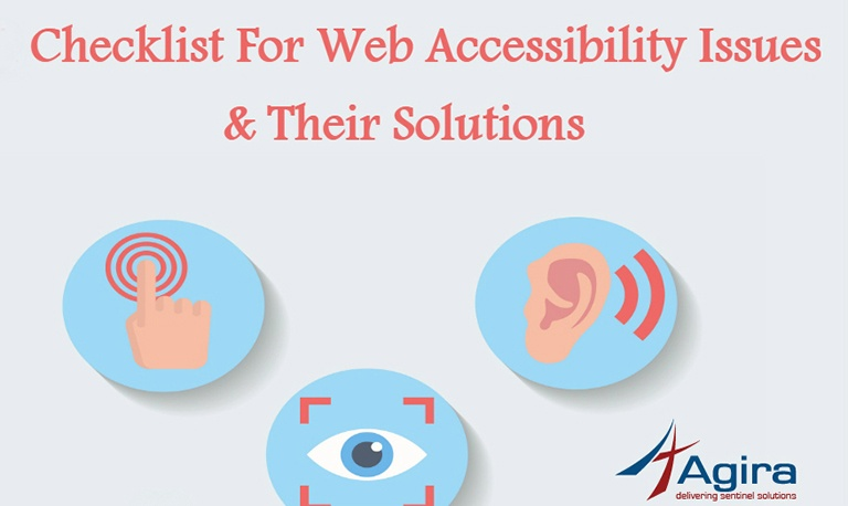A Checklist For Web Accessibility Issues & Their Solutions