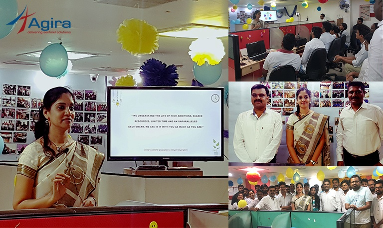 Agira's Anniversary Celebration Day 2 With Ms. Kuppulakshmi Product Evangelist Of Zoho