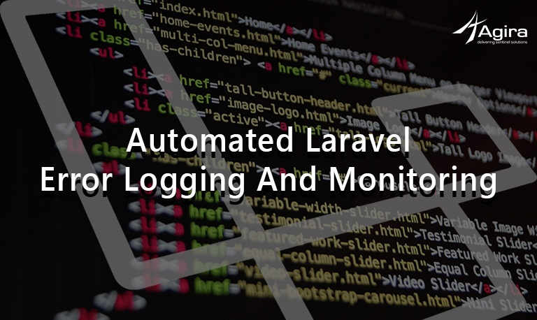 Automated Laravel Error Logging and Monitoring