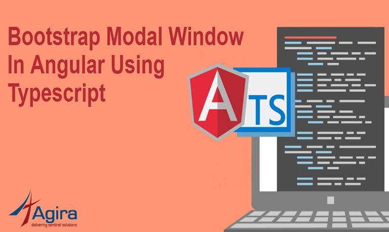 Bootstrap Modal Window In Angular Using Typescript