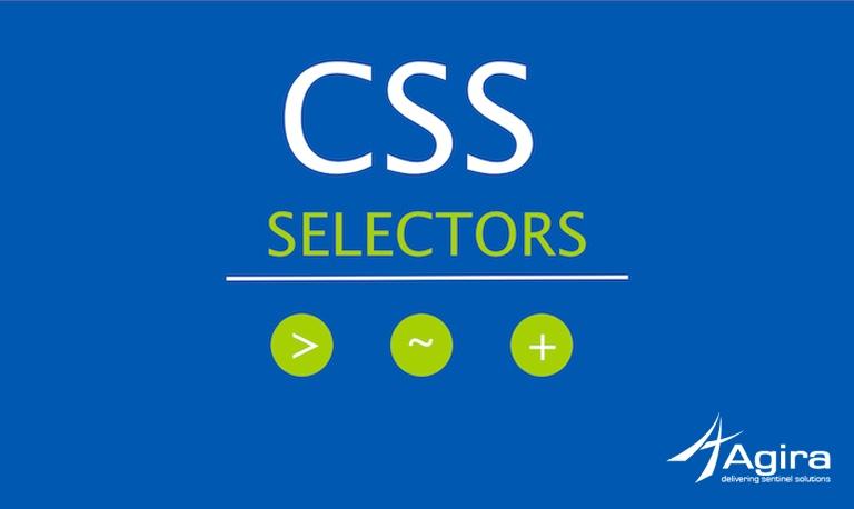 CSS SELECTORS – PART 1