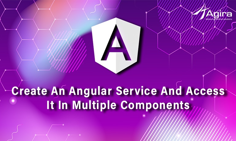 Create An Angular Service And Access It In Multiple Components