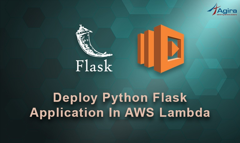 Deploying python flask application in AWS lambda