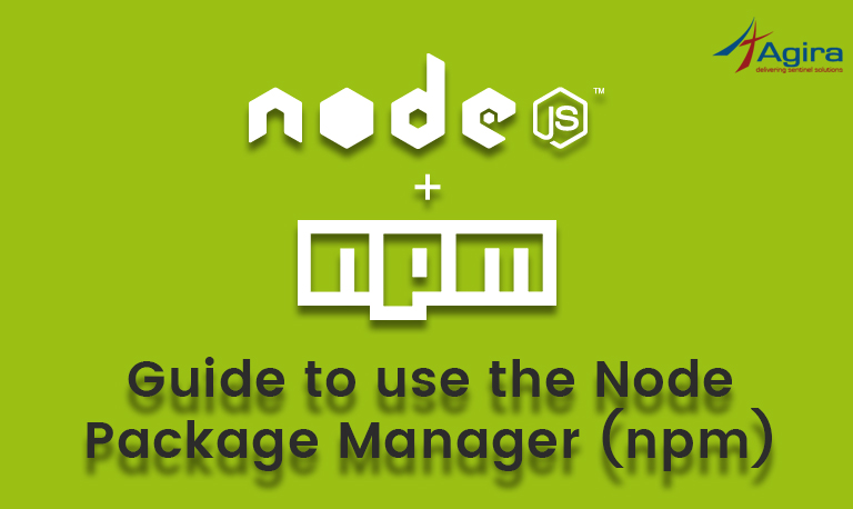 Guide to use the Node Package Manager (npm)