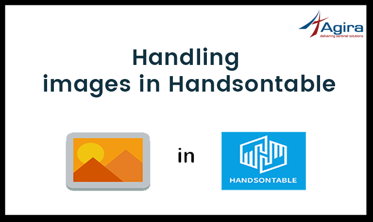 Handling images in Handsontable