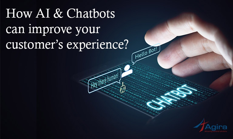 How AI & Chatbots can improve your customer's experience