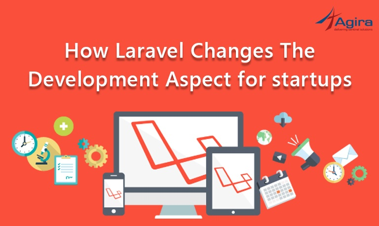 How Laravel changes the development aspect for startups