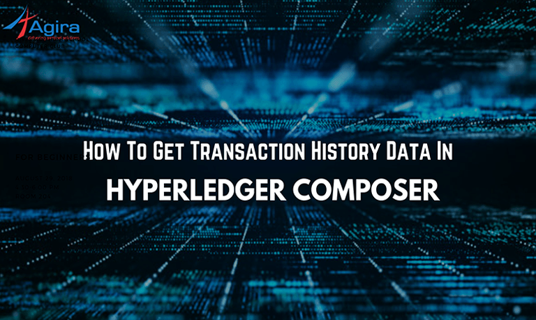 How To Get Data Of Transaction History In Hyperledger Composer