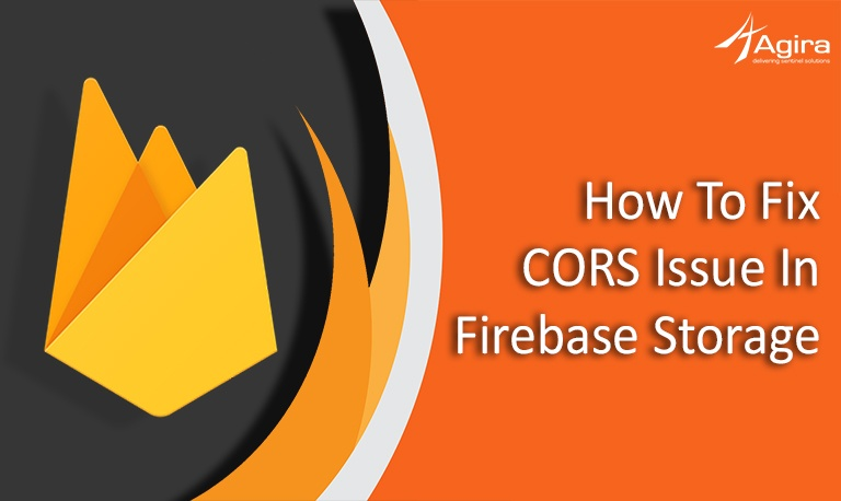 How to fix CORS issue in firebase storage original
