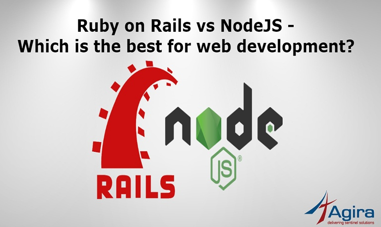 Ruby on Rails vs NodeJS – Which is the best for web development