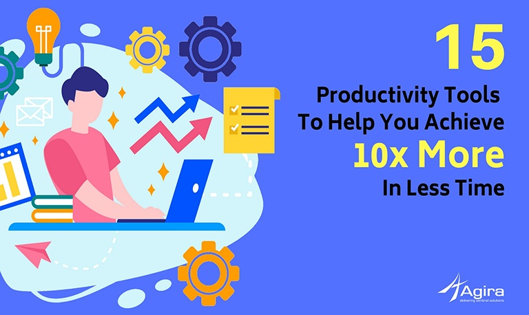 Top 10 Productivity Tools That Saves You 10X More Time