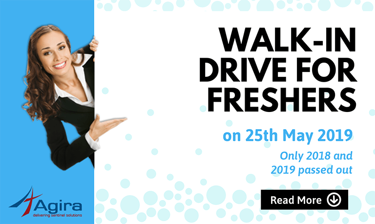 Walkin Drive for Freshers on 25th May 2019 Software Engineer Trainee Chennai