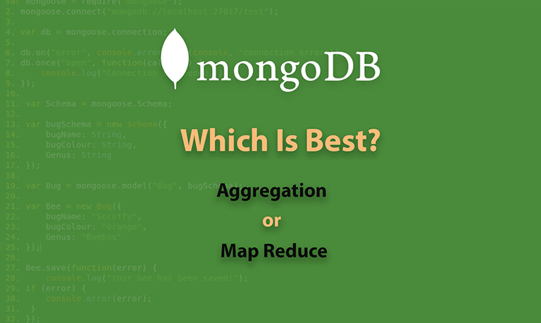 Which Is Best Aggregation or Map Reduce MongoDb