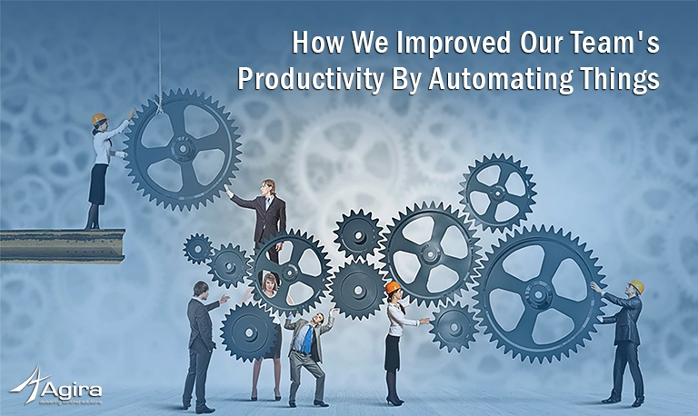 how we improved our team's productivity by automating things