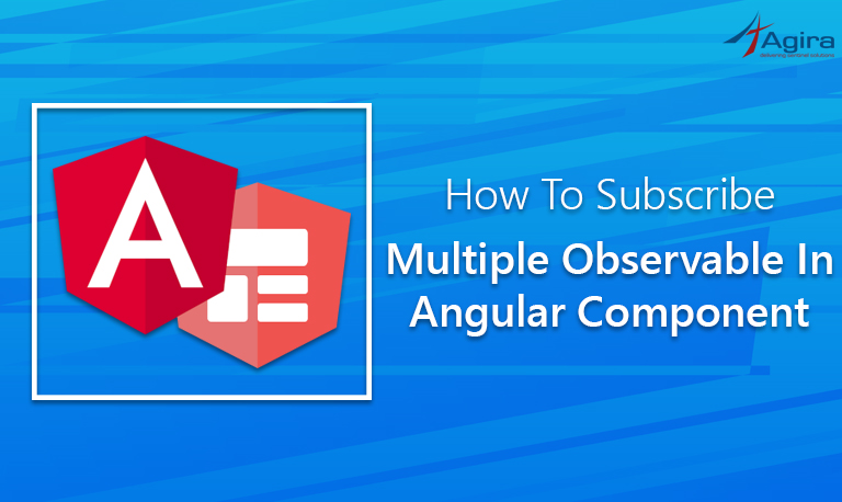 How To Subscribe Multiple Observable In Angular Component