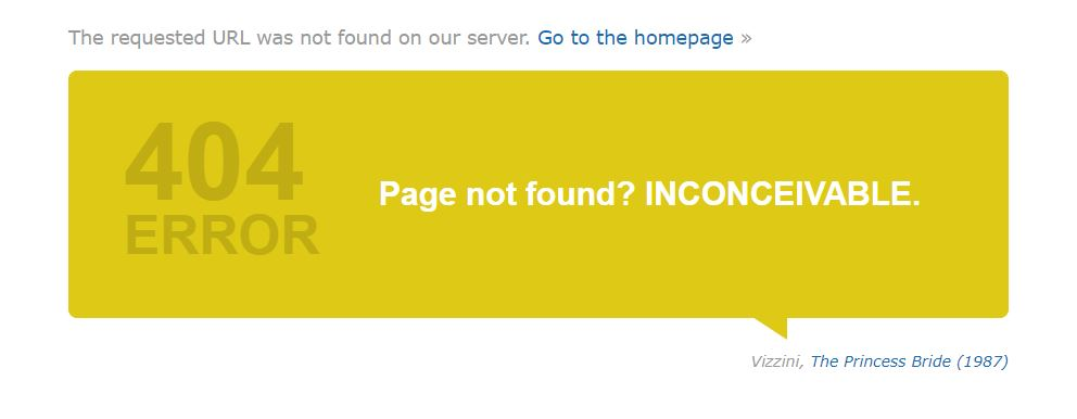 IMDB_404 page not page
