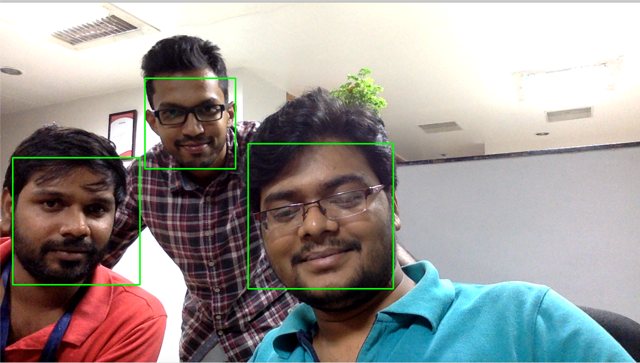 face recognition using Python