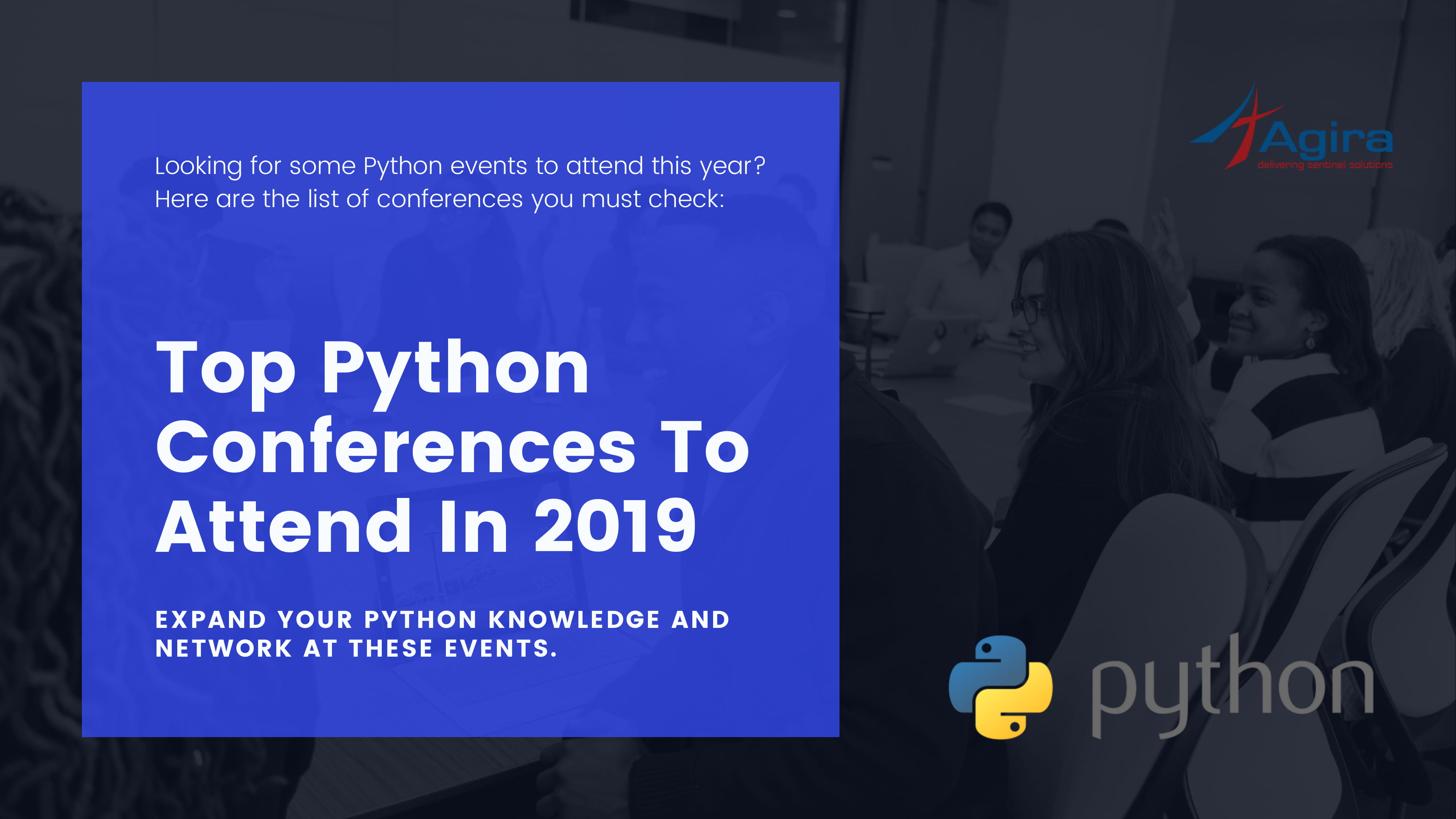 Top python conferences to attend in 2019