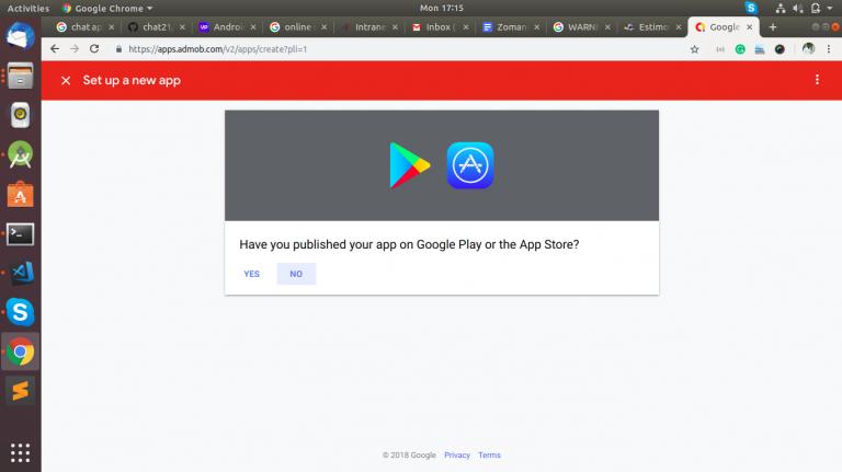 Google Admob Intergration