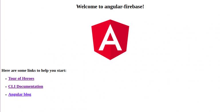 Deploy Angular app to firebase