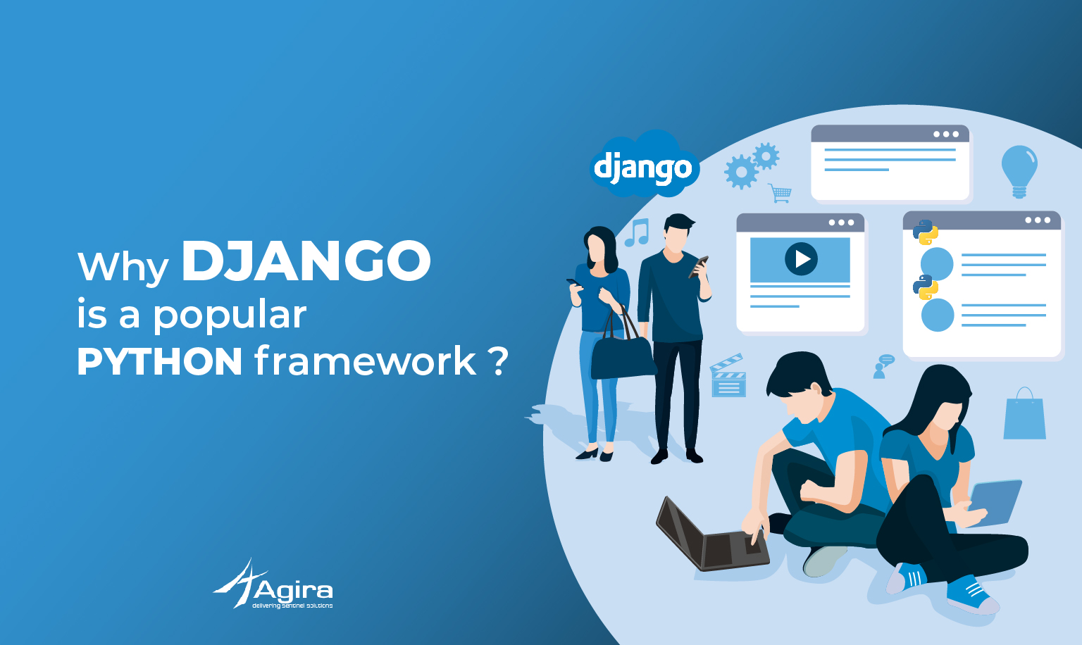 Why Django is a popular python framework