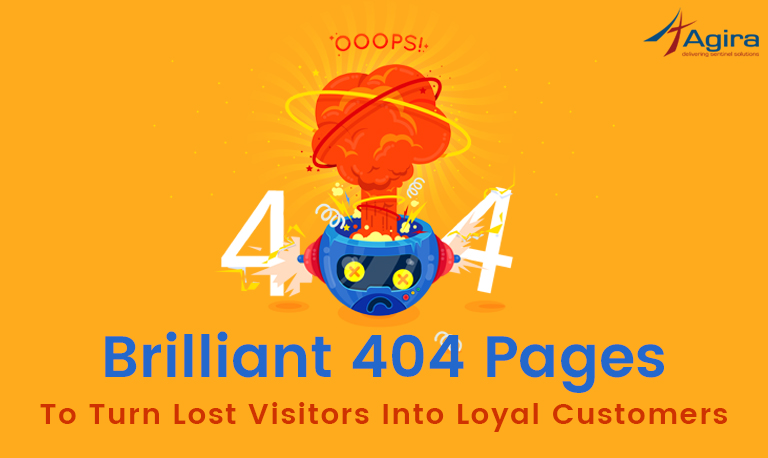 Brilliant_ 404 Pages To Turn Lost Visitors Into Loyal Customers