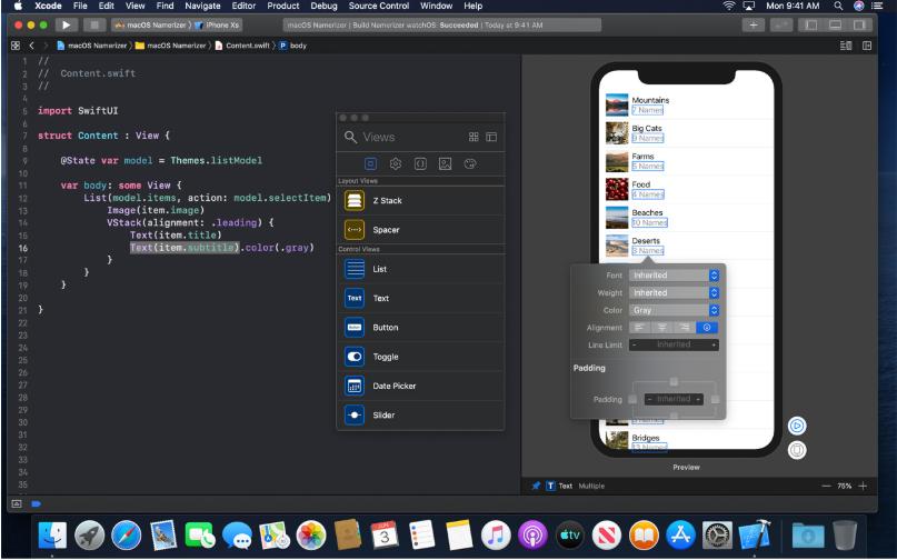 design tools Swift UI