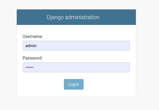 Django Admin Developing Restful APIs with Python and Django