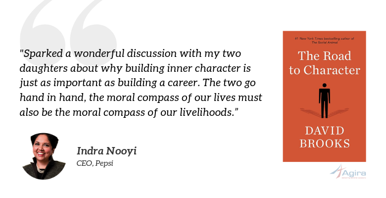 The Road to Character, David Brooks - Indra Nooyi