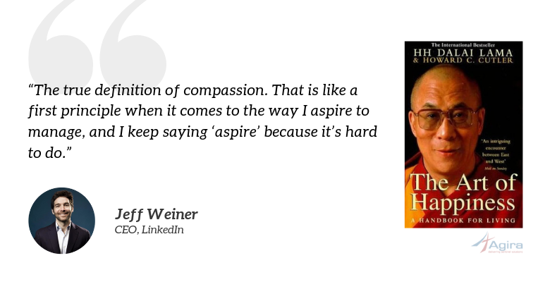 The Art of Happiness, the Dalai Lama - Jeff Weiner