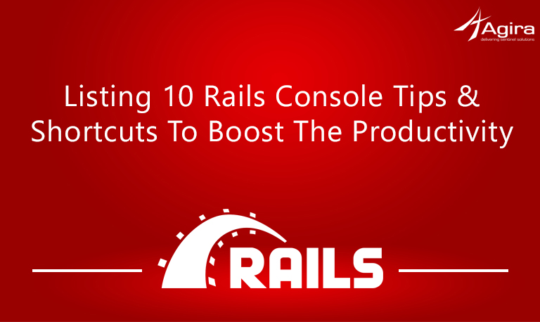 Listing 10 Rails console tips & shortcuts to boost the productivity