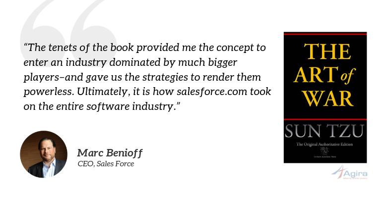 The Art of War, Sun Tzu - Marc Benioff