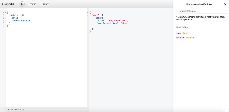 Build web app using React graphql