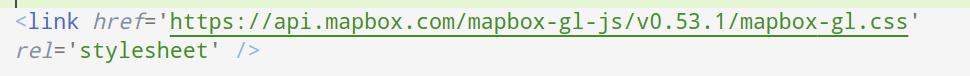 mapbox style