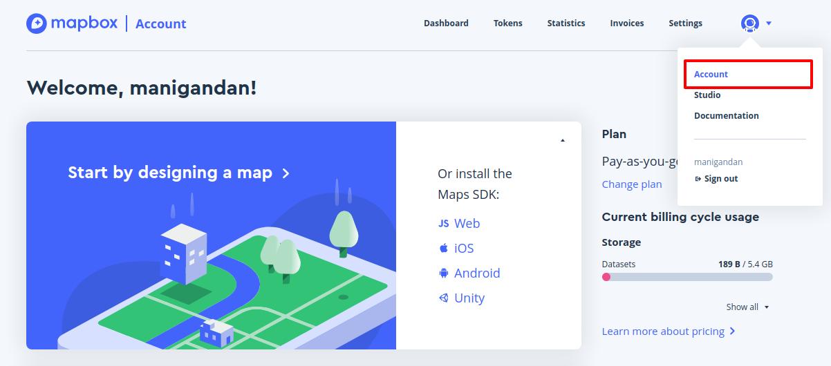 mapbox-account