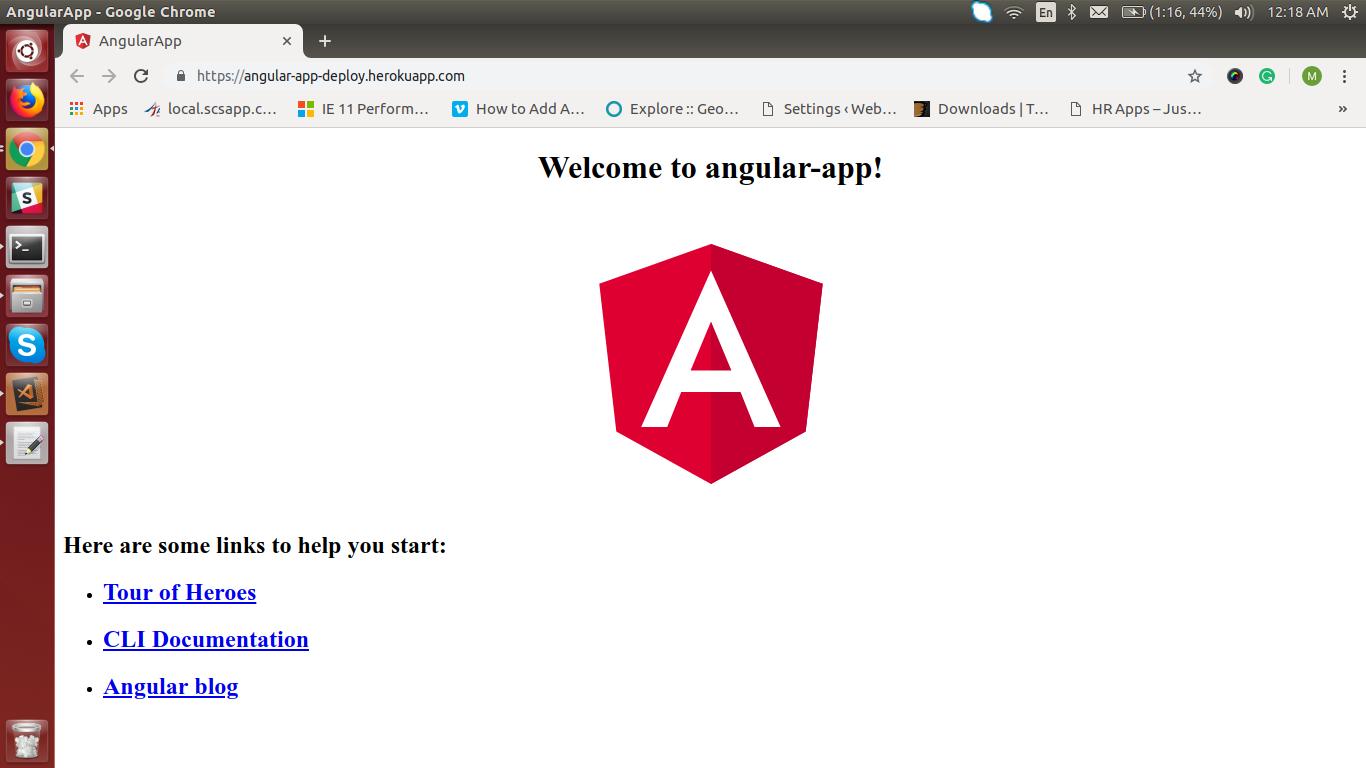 deploying angular app in heroku
