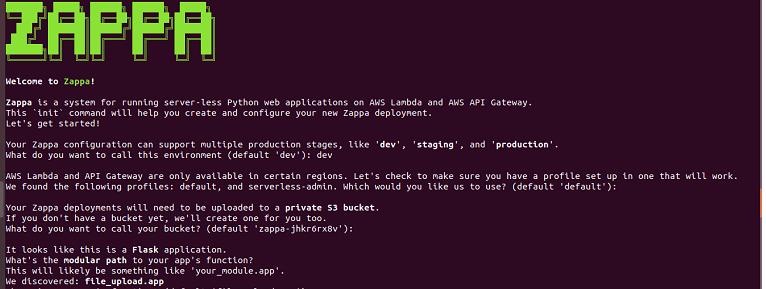 Deploying Python Flask Application In AWS Lambda