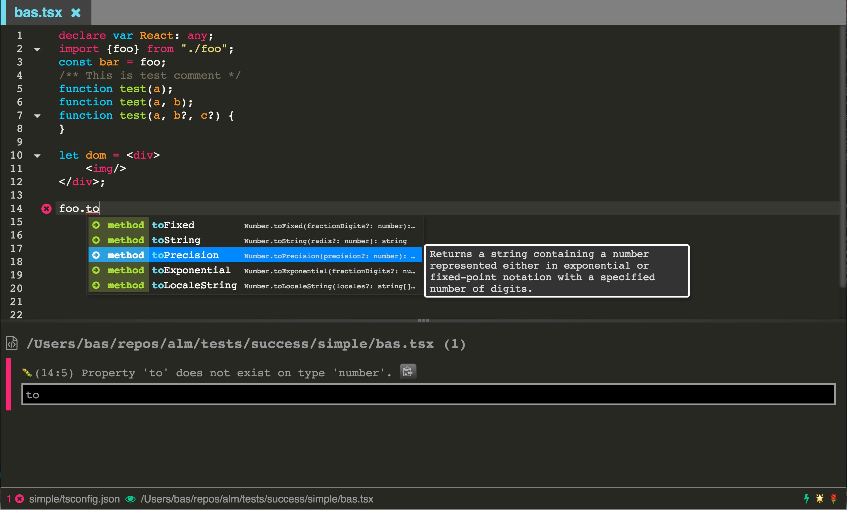 Angular IDE - ALM ide