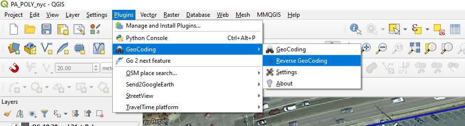 Geocoding API and Reverse Gecoding