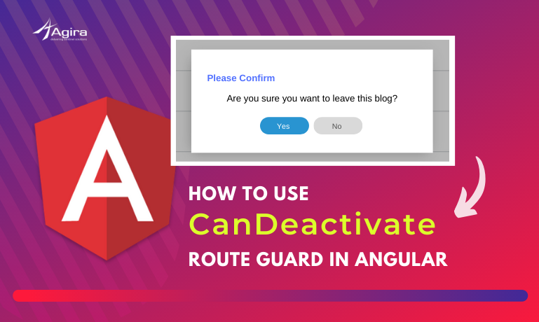 How To Use CanDeactivate Route Guard In Angular