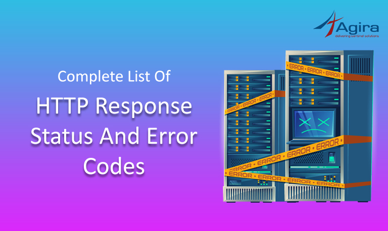 Complete List of HTTP Response Status and Error Codes