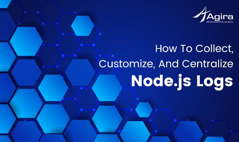collect, customize, and centralize Node logs