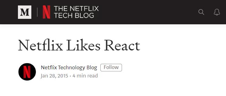 netflix react js